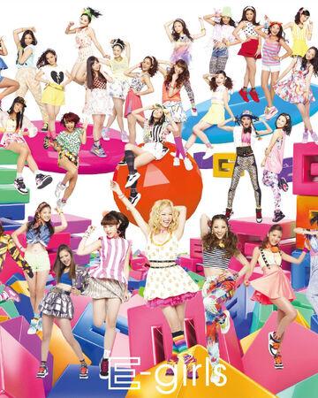 E-girls - Gomennasai no Kissing You CD Only cover.jpg