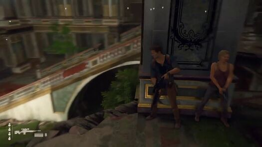 Uncharted 4 - Cut to the Chase Ingame version (stealth)