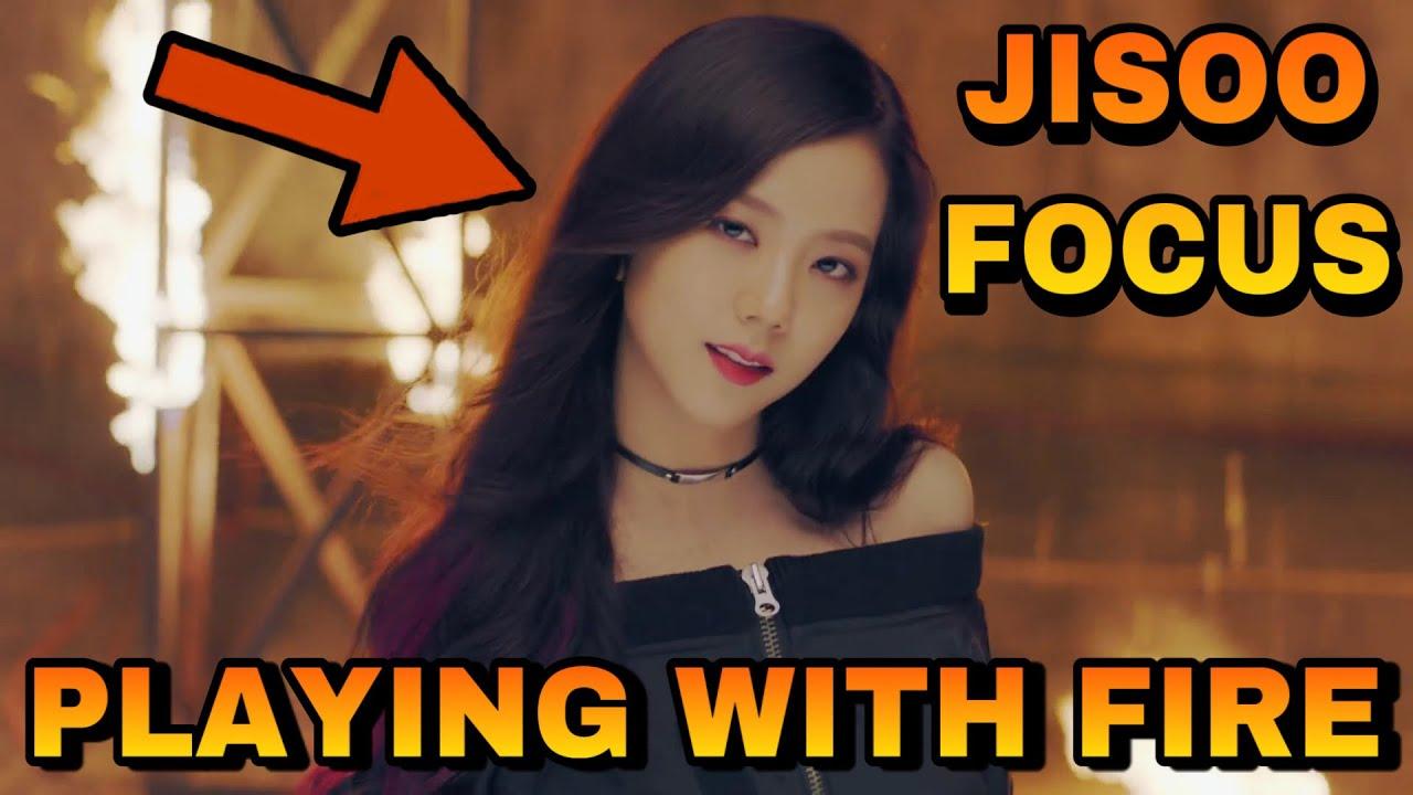 BLACKPINK - PLAYING WITH FIRE MV (Jisoo focus)