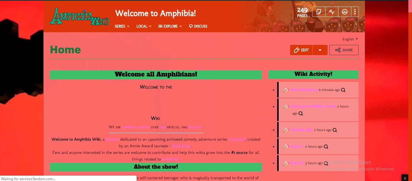 Amphibia Wiki on Twitter