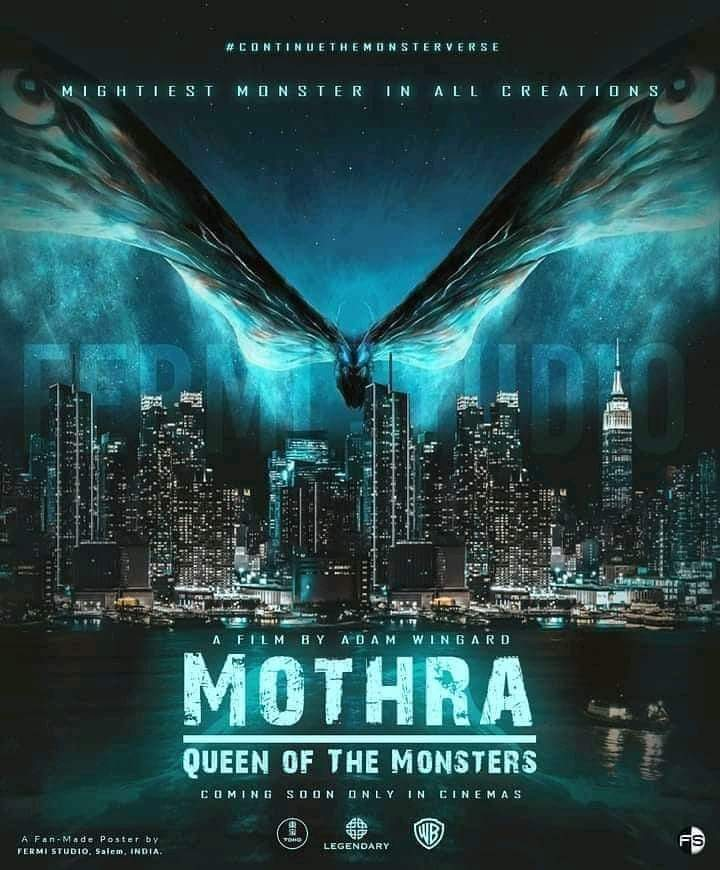 MOTHRA MOVIE POSTER FAN ART INSPIRES EXCITEMENT FOR CONTINUING THE  MONSTERVERSE! | Fandom