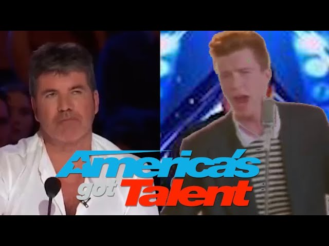 Rick Astley Goes to America's Got Talent, but...