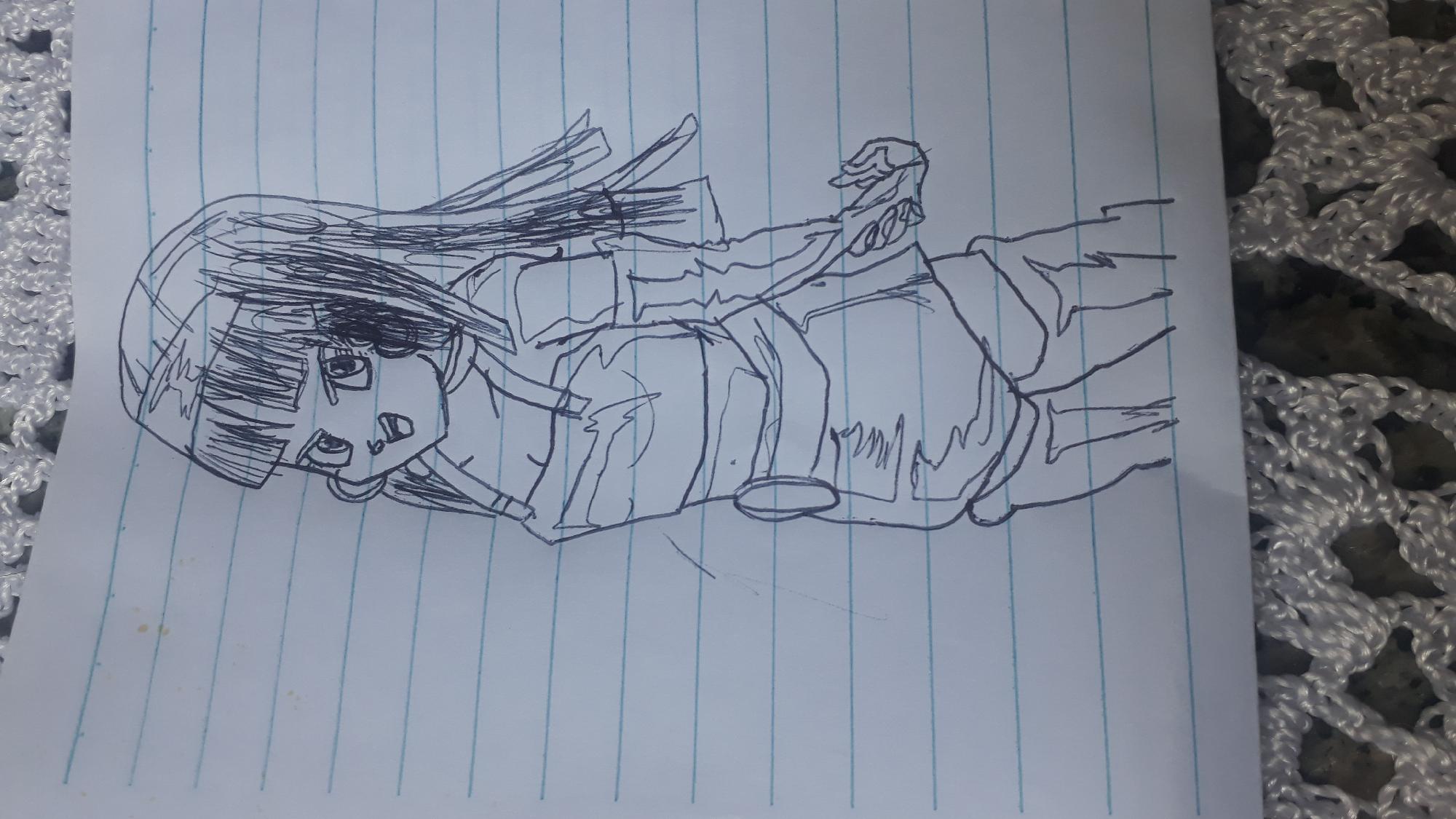 Desenhei a Bra kkkk