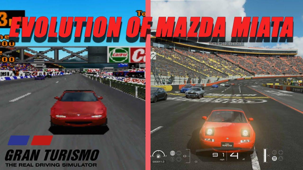 Gran Turismo Evolution of Mazda Miata