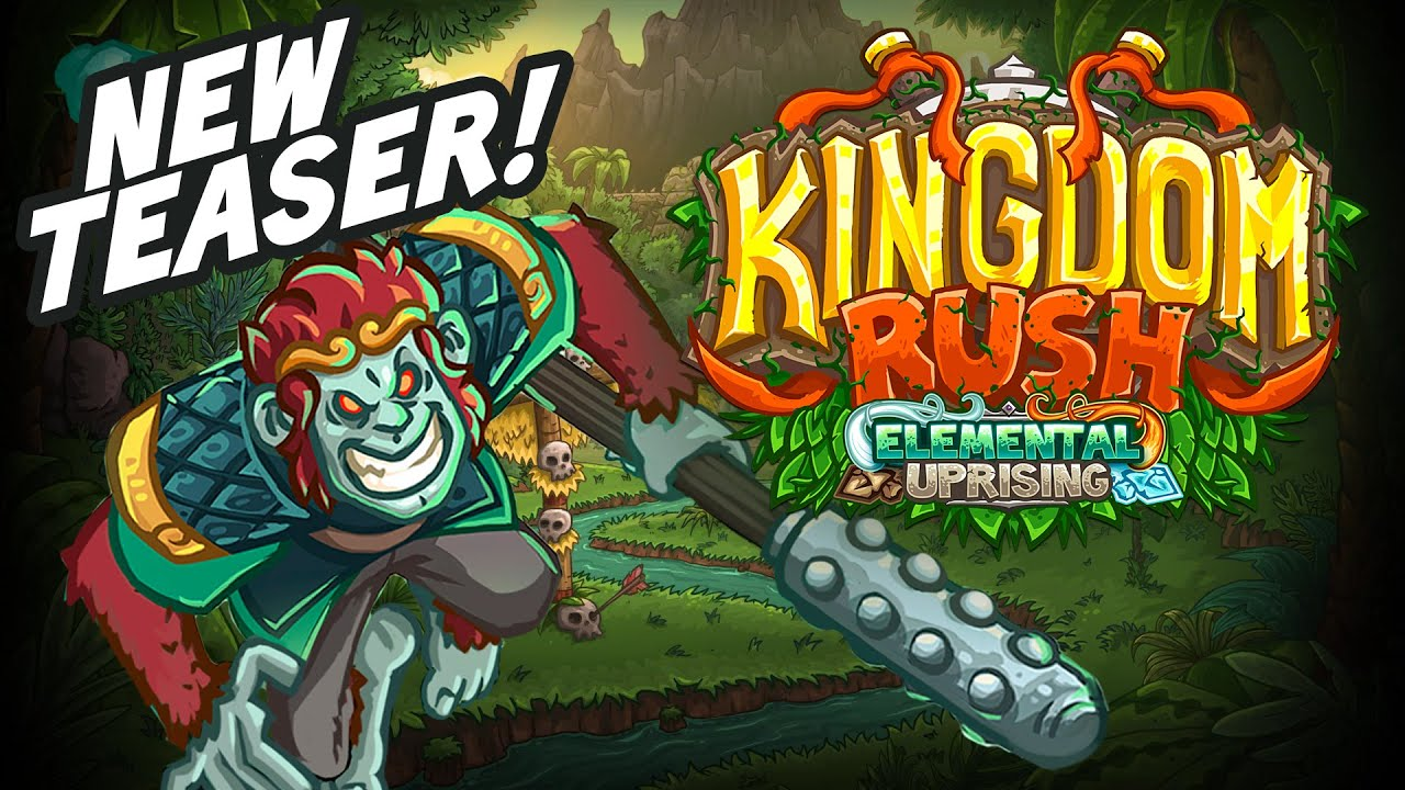 Kingdom Rush: Elemental Uprising TEASER!