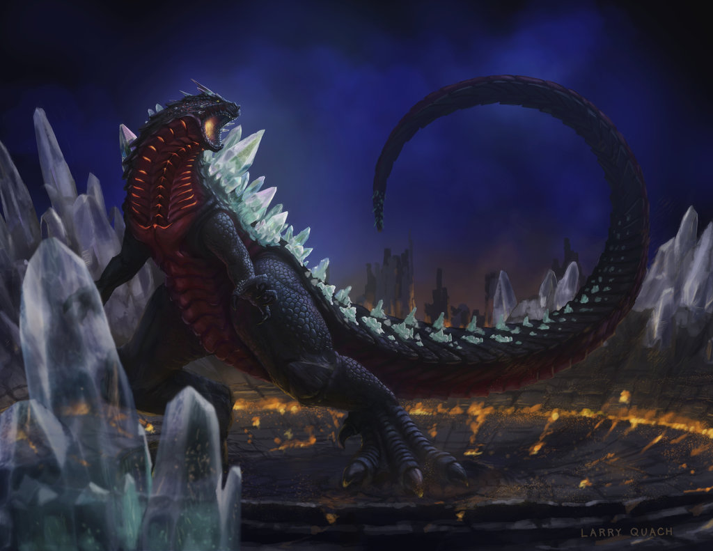 Image result for monsterverse spacegodzilla