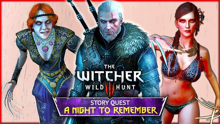 Witcher 3: Geralt's Contract to Kill Orianna - Both Outcomes - A Night to Remember Mod