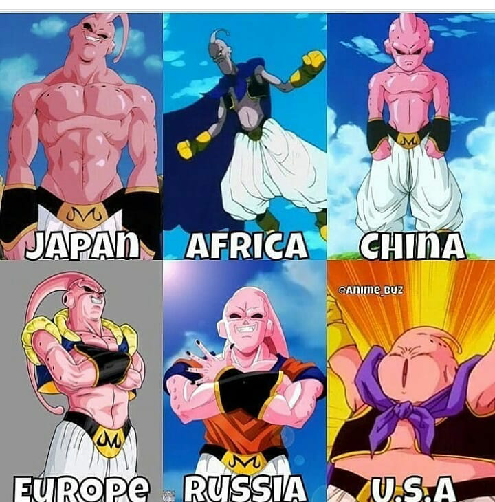 Which buu is best choose the favourite one so comment below 👇 👇