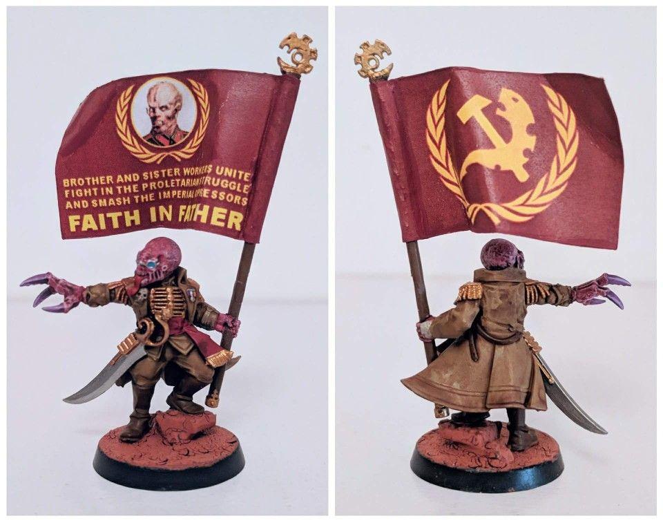 ¡Unios a la Mente Enjambre, camaradas proletarios!