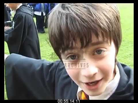 Harry Potter and the Sorcerer's Stone BEHIND THE SCENES