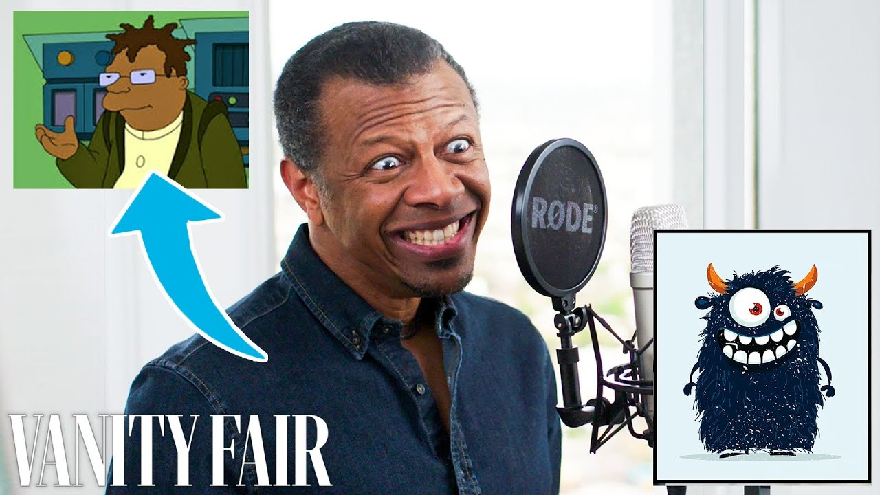 Phil LaMarr (Samurai Jack) Improvises 12 New Cartoon Voices | Vanity Fair