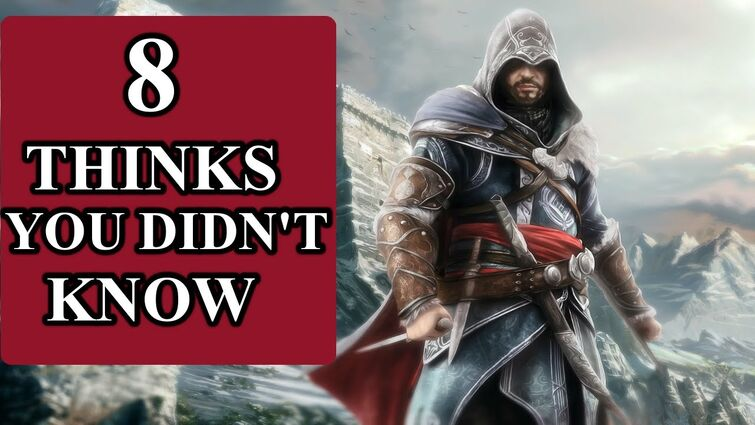 8 things you didn't know about Assassin's Creed
