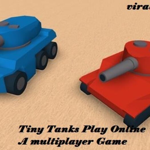 Tiny Tanks Play Online A multiplayer Game - ViralG10