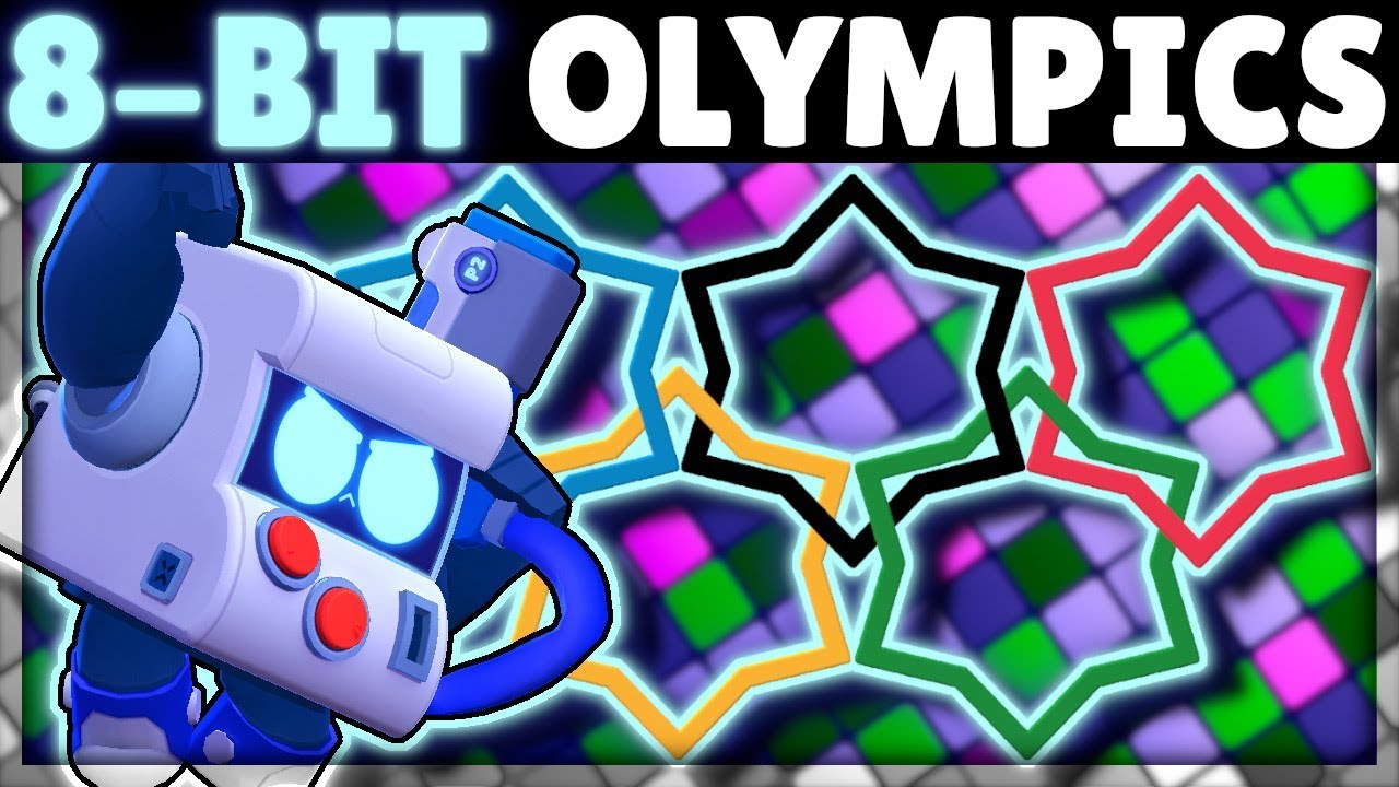 8-BIT OLYMPICS! | How Does 8-BIT do in EVERY Test?! | New Brawler 8-BIT Mechanics