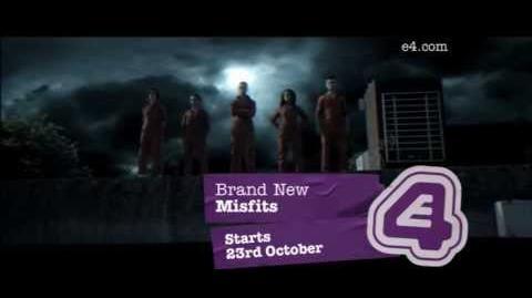 Misfits Starts 23rd October E4