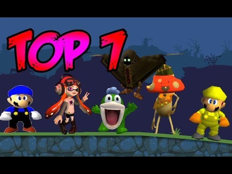 Top 7: SMG4 Cast In Bad Piggies