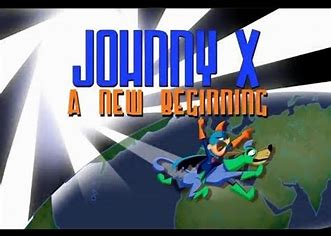 Johnny x a new beginning title card