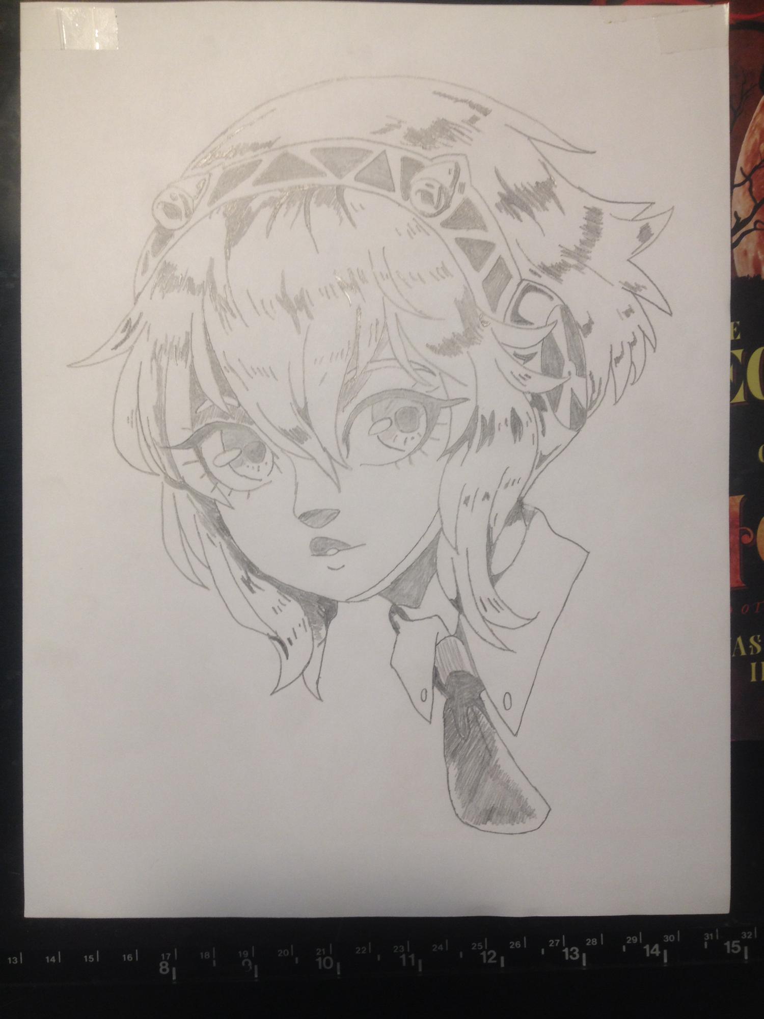 Aigis Sketch