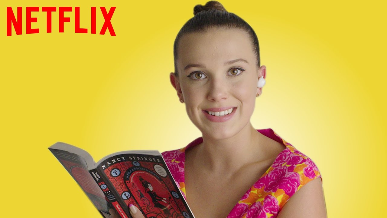 Millie Bobby Brown Reads Enola Holmes | Netflix