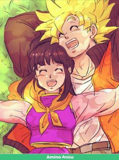 Goku e chichi vs vegeta e bulma