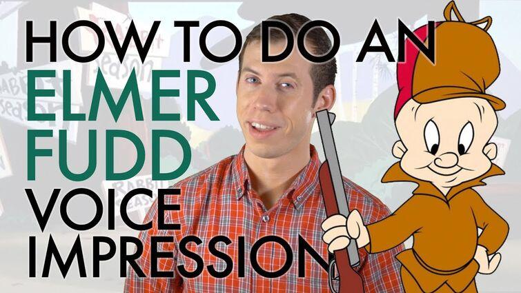 """How To Do An Elmer Fudd Voice Impression"" - Voice Breakdown Ep. 18"