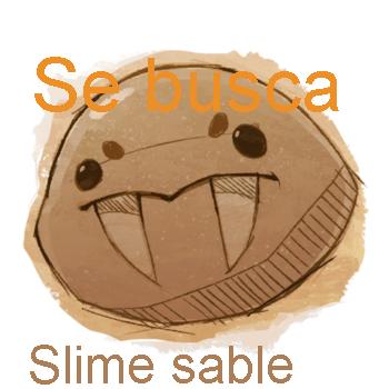 Como consigo el Slime sable??