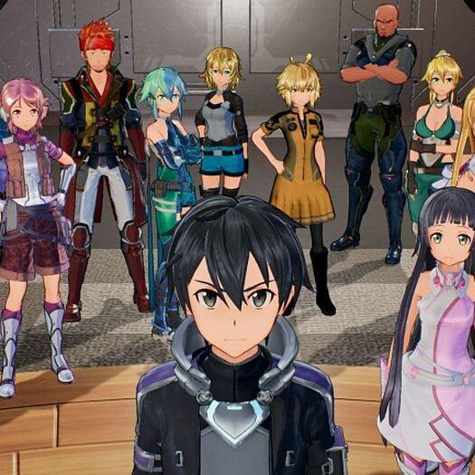 La serie Sword Art Online confirma su lanzamiento en Nintendo Switch