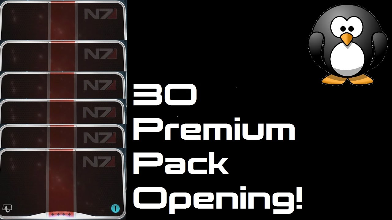 Mass Effect Andromeda Multiplayer: 30 Premium Pack Unboxing! (9000 points)