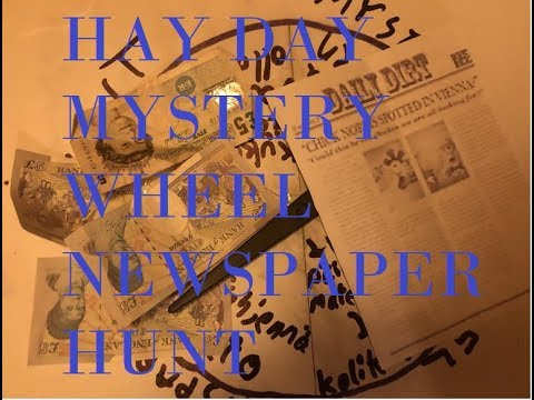 £25 MYSTERY WHEEL NEWSPAPER HUNT | AxelssonHD vs. Netawsk