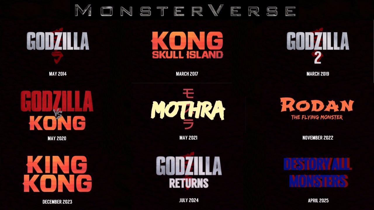 Monsterverse en mi opinion Perfecto