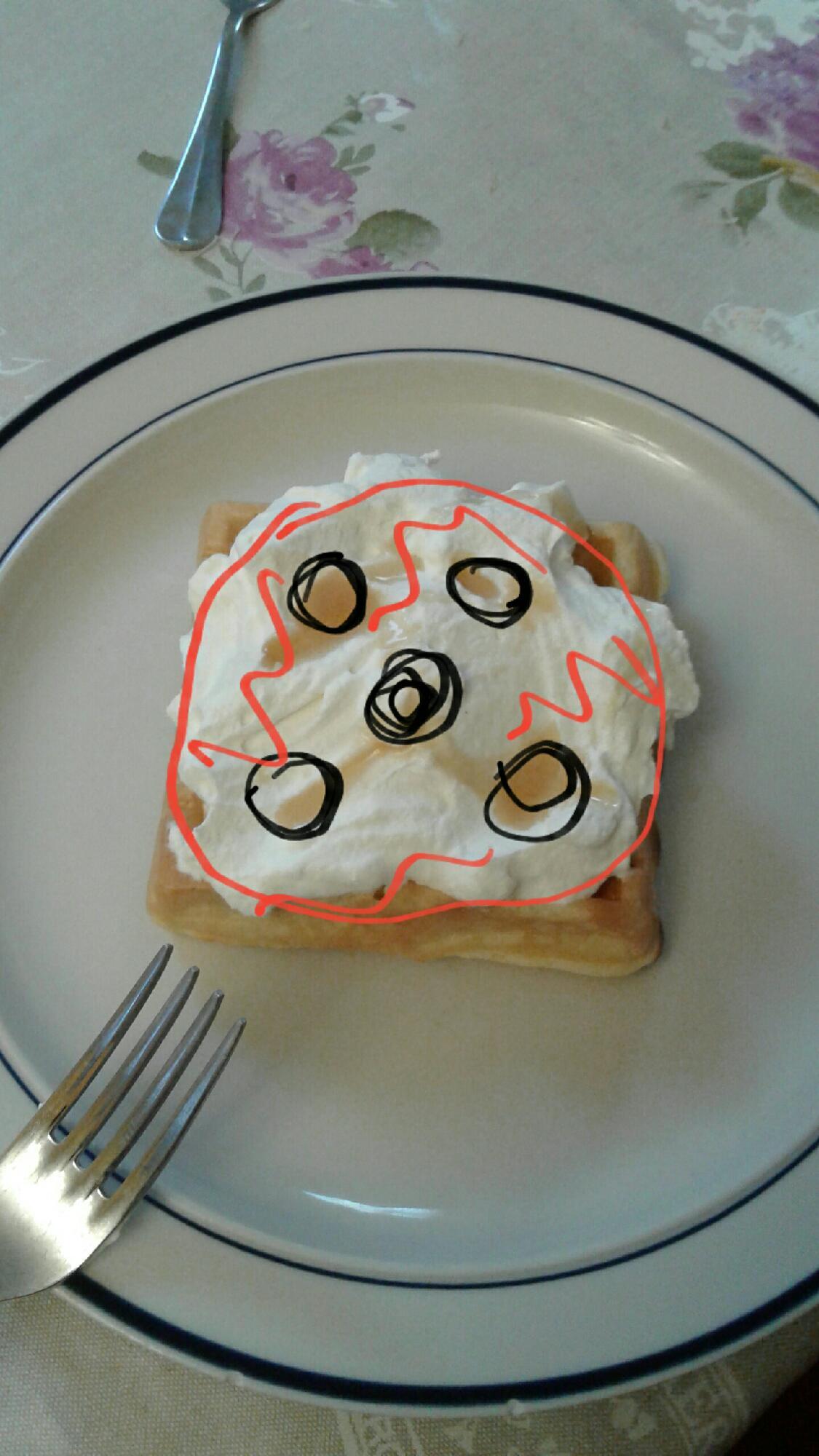 Look at my waffle!
