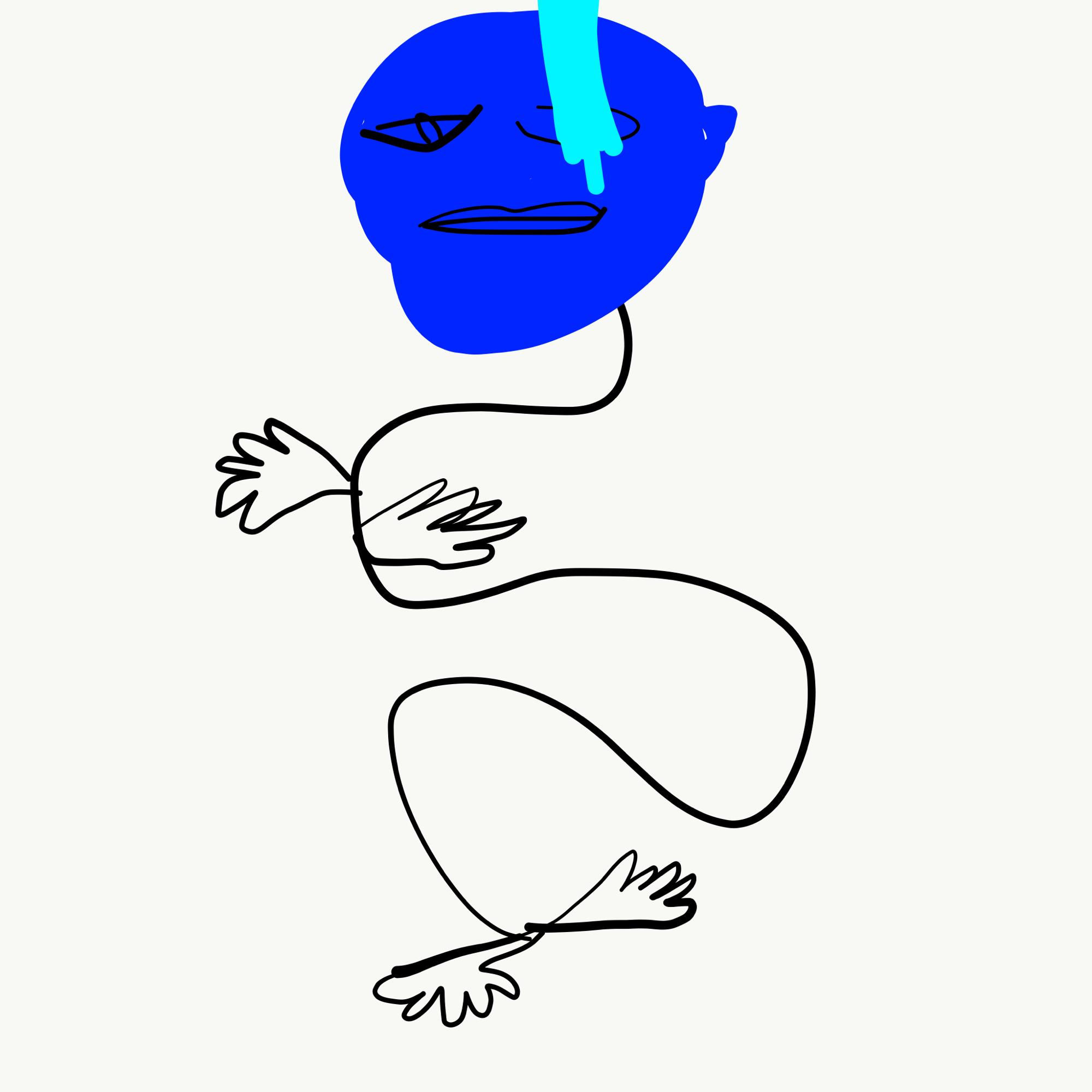 Blue Balloony