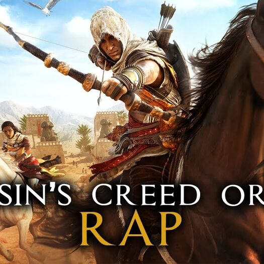 "ASSASSIN'S CREED ORIGINS RAP by JT Music - ""I'm The Creed"""