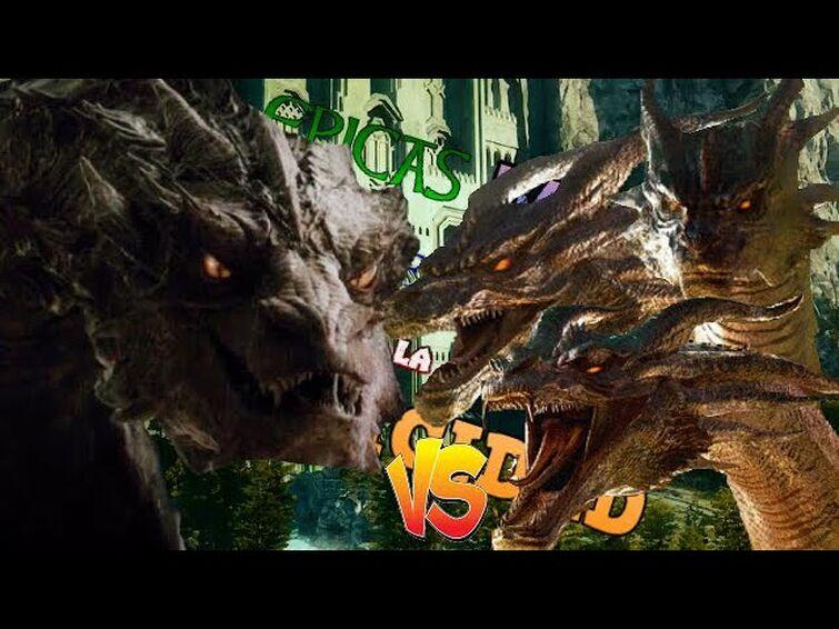 Smaug vs King Ghidorah. Épicas Batallas de Rap de la Pura Epicidad   Gaara1017