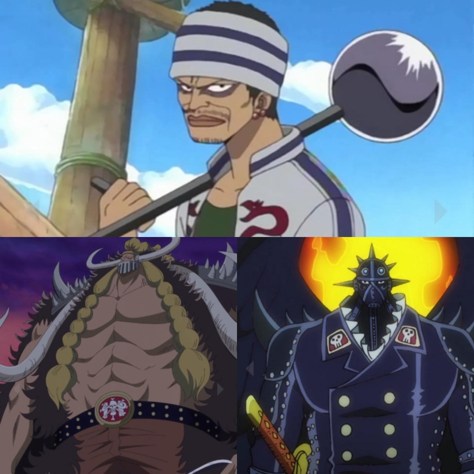 Secondo voi chi sarà il Figlio di Kaido tra loro?