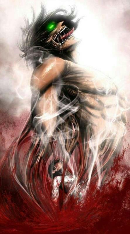Eren's titan powers...