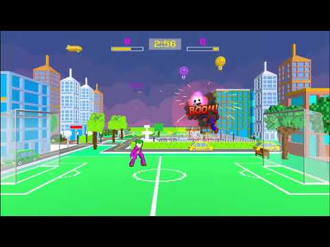 Soccer Power Hero Gameplay (Simple party game for kids and families)