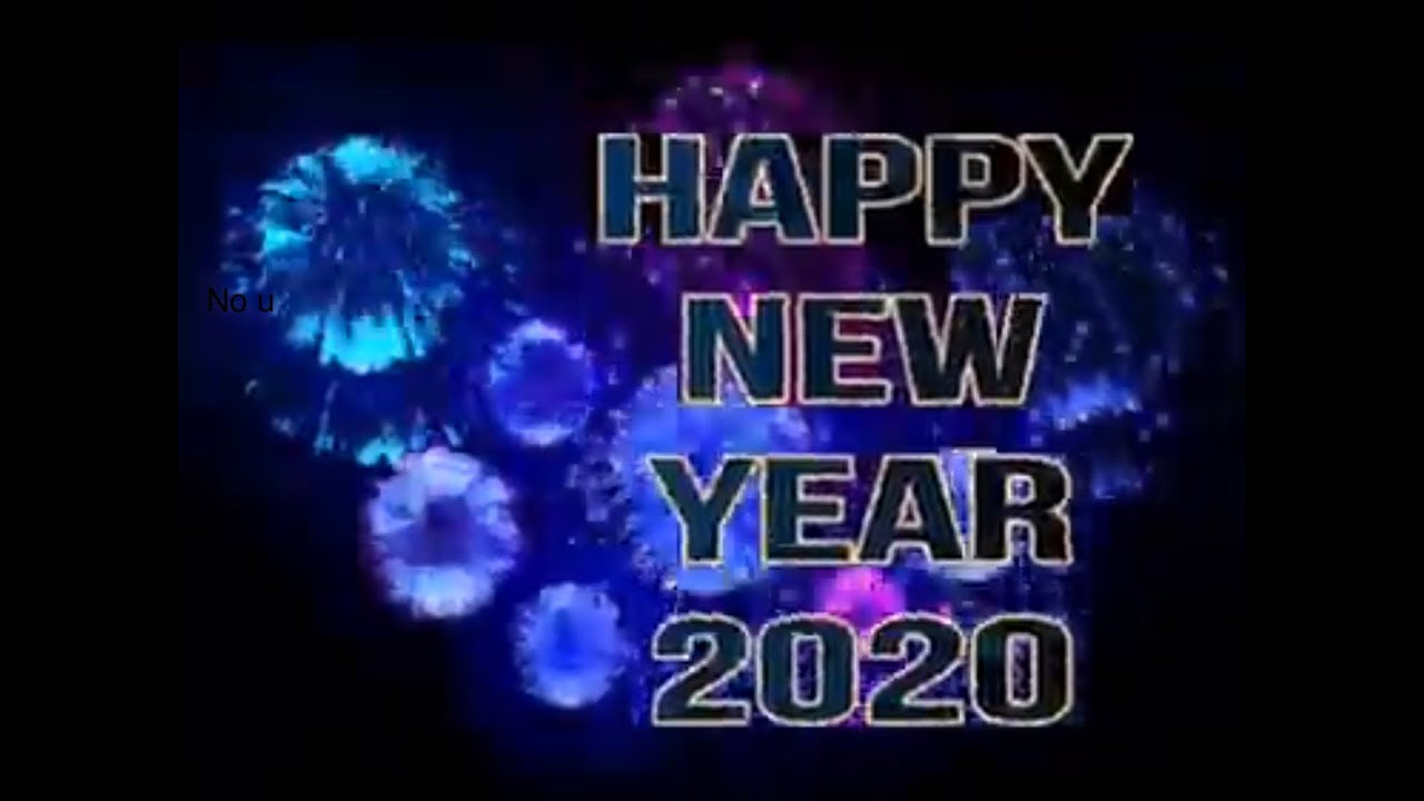 Happy New Year! 2020 (Happy New Decade)