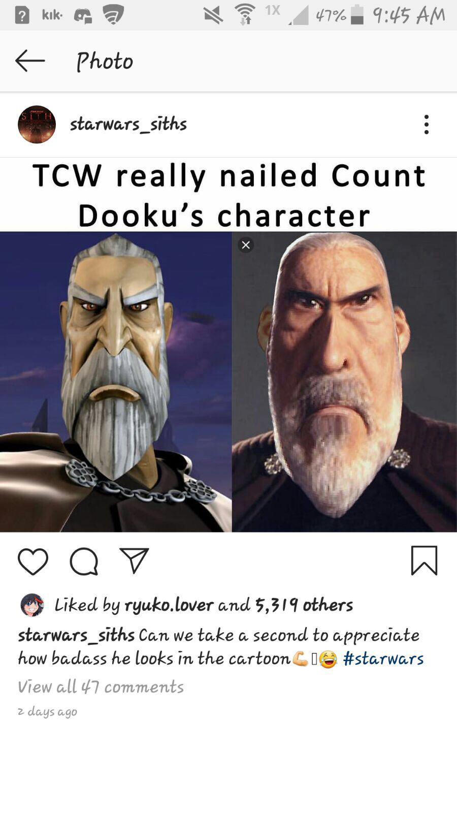 New Dooku skin leaked?