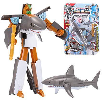 Shark transformers autobot