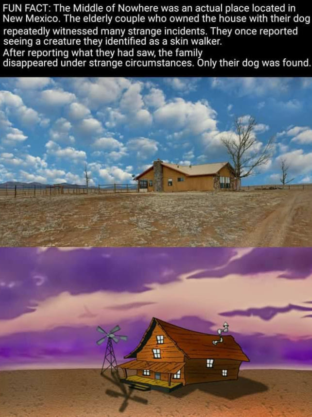 Is Courage the Cowardly Dog based on a true story?