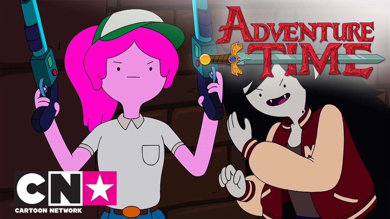 Время приключений | Лучшие моменты дружбы Марселин и Принцессы Бубльгум| Cartoon Network