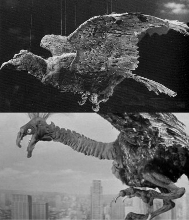 Giant Condor VS Giant Claw