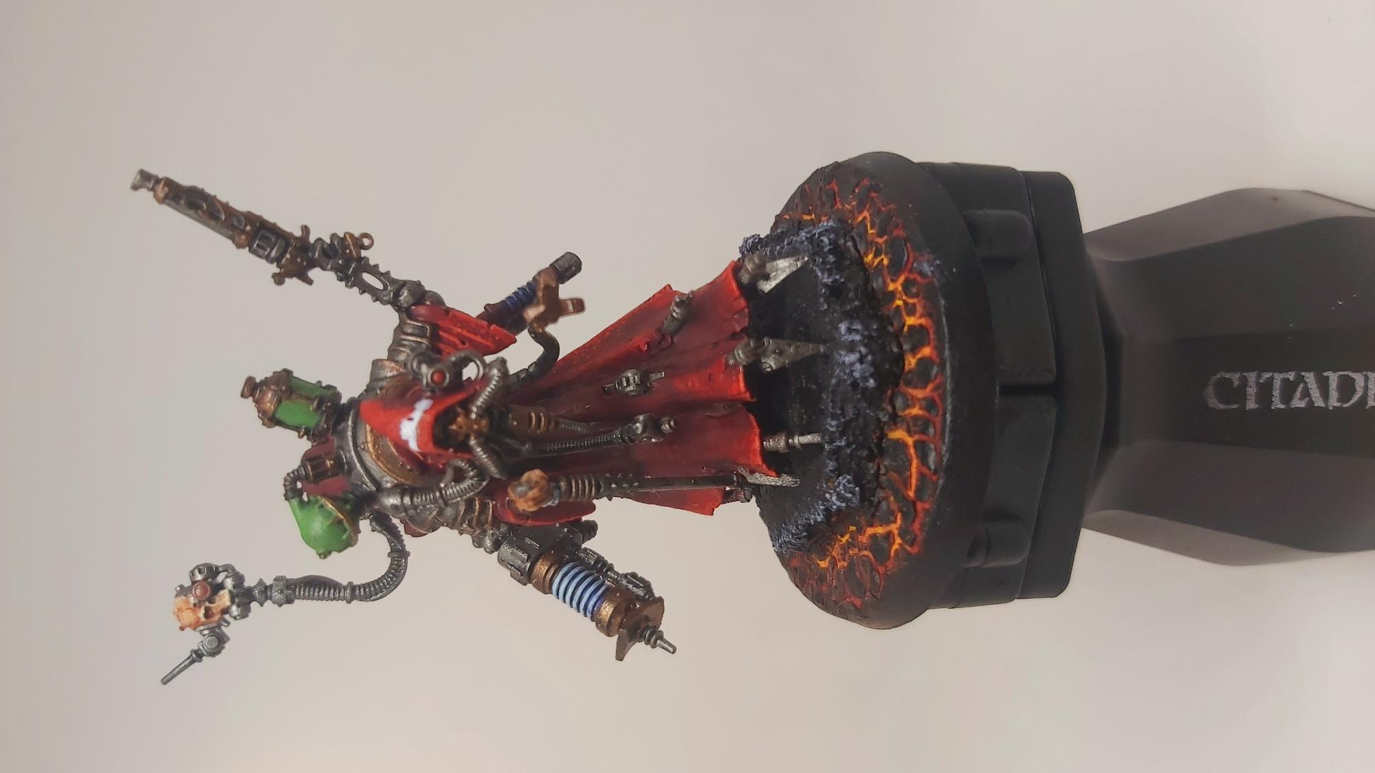 Finished a techpriest dominus