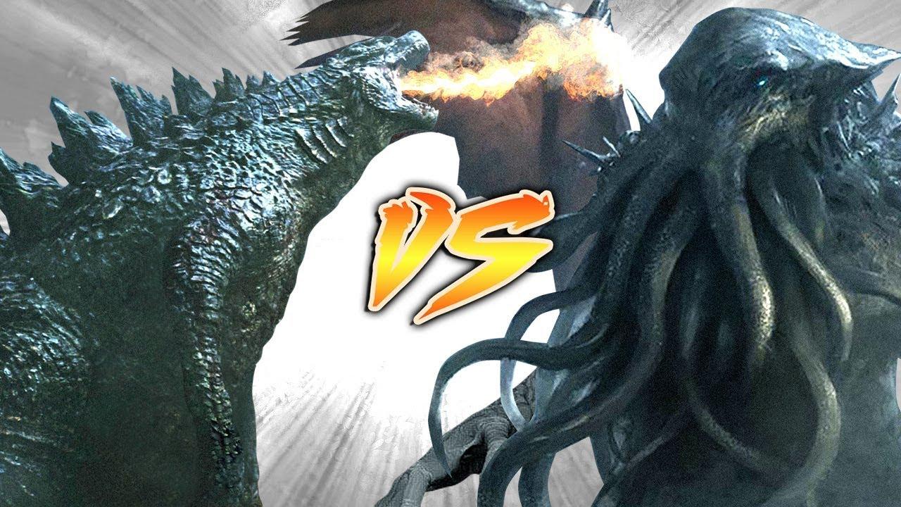 Godzilla Vs Cthuluh