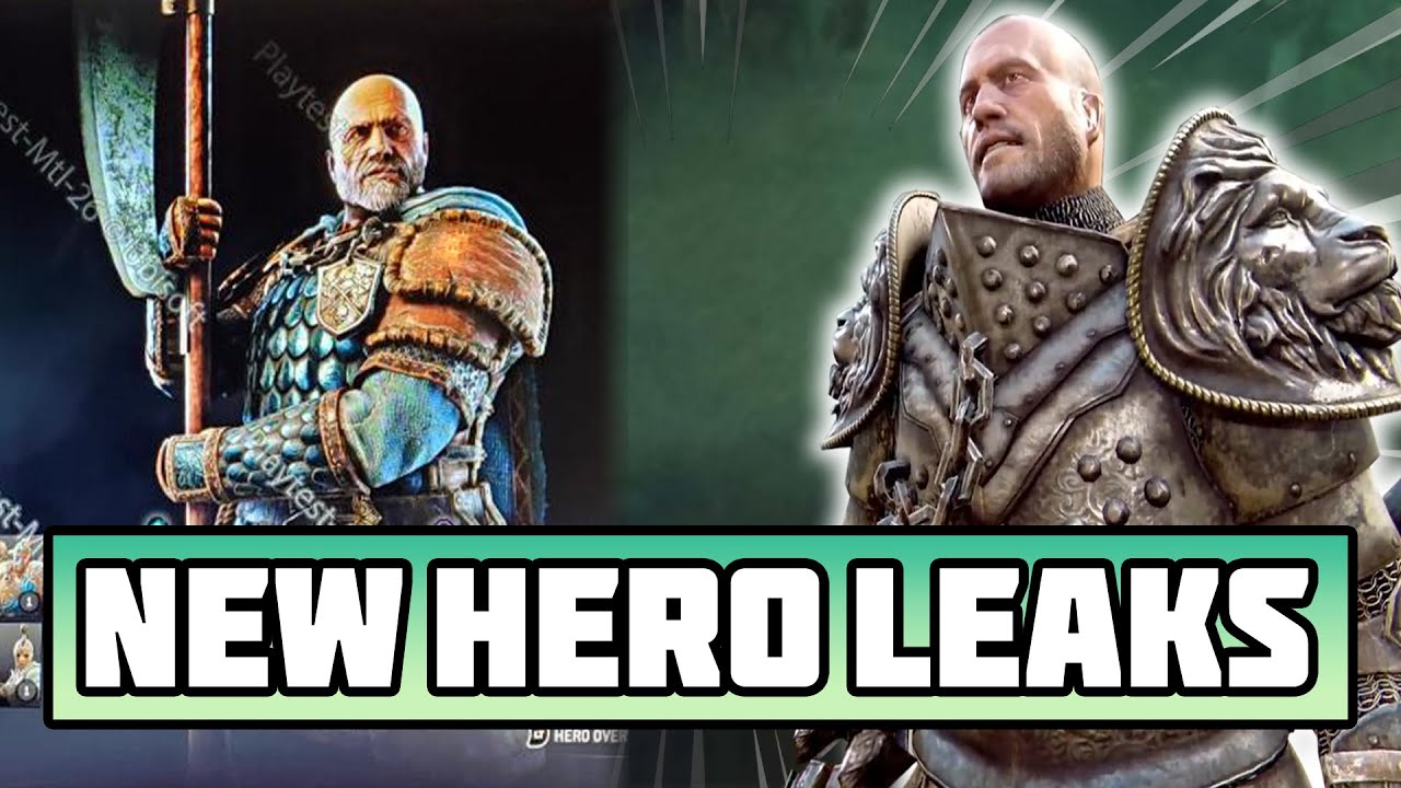 NEW HOLDEN CROSS HERO in For Honor | Moveset explained | Feats explained | Leaked hero
