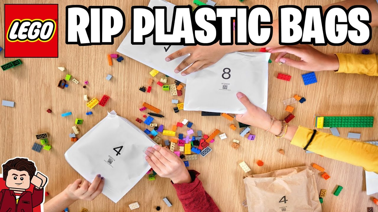 RIP Plastic LEGO Bags | NEW Paper Bags & $400 Million Invested