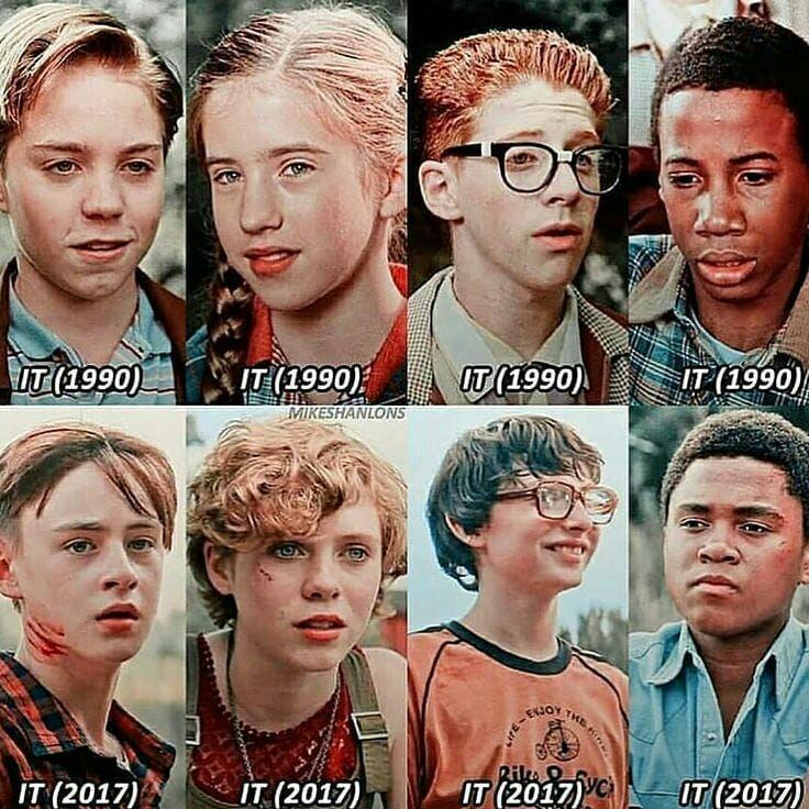 IT movie cast 1990 vs. 2017 | Fandom
