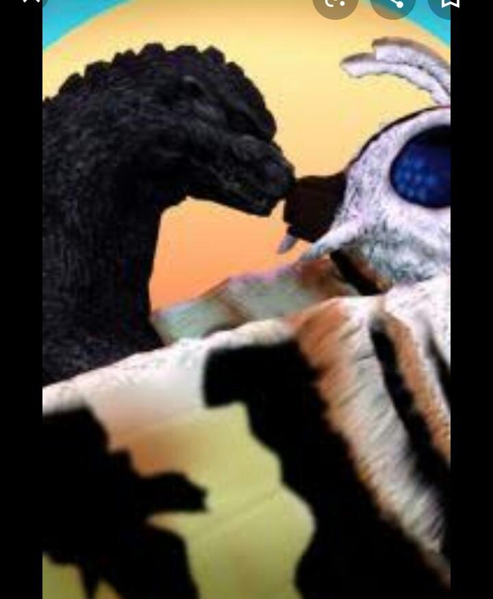 Godzilla x mothra