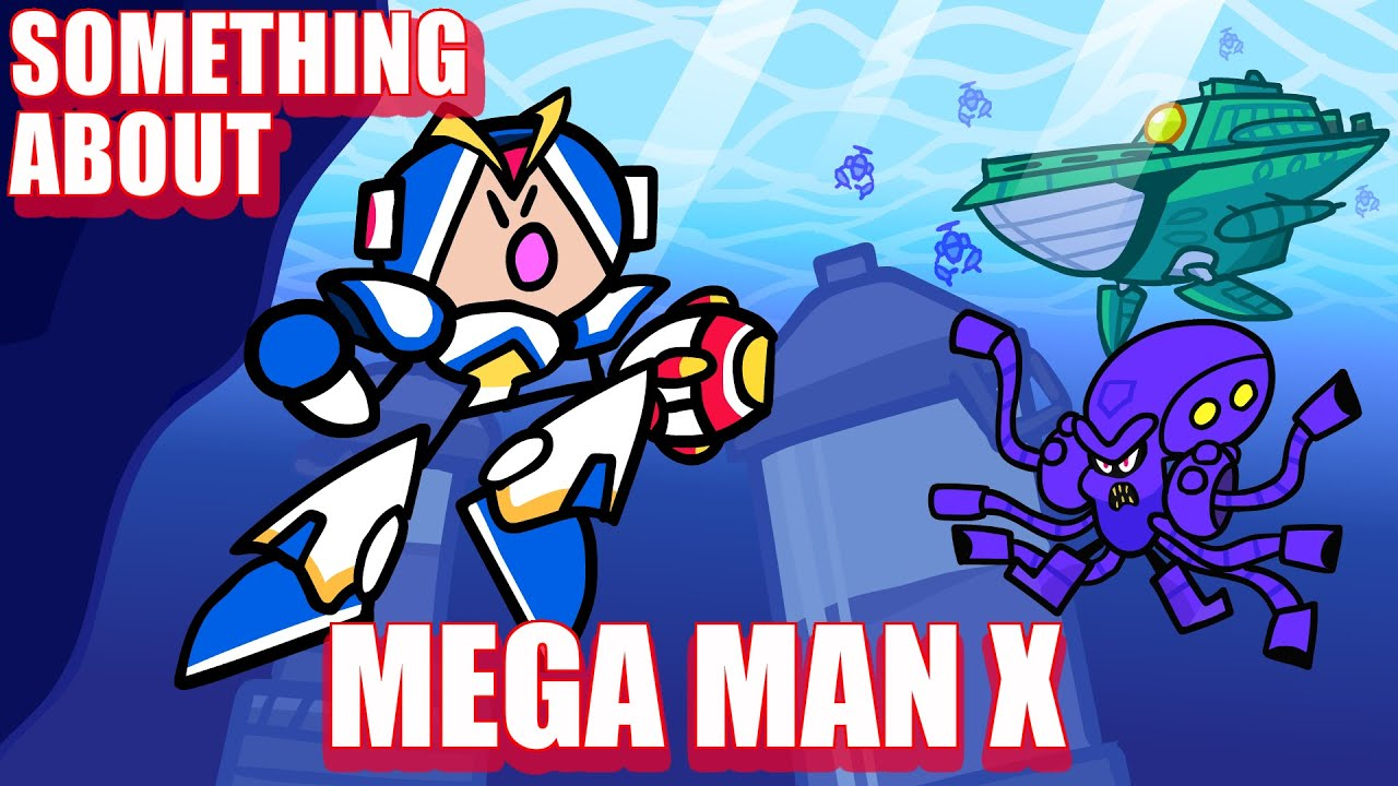 Something About Mega Man X ANIMATED (Loud Sound & Flashing Light Warning) 🍋🔫 🤖